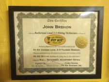 Certified by Fit Kit School